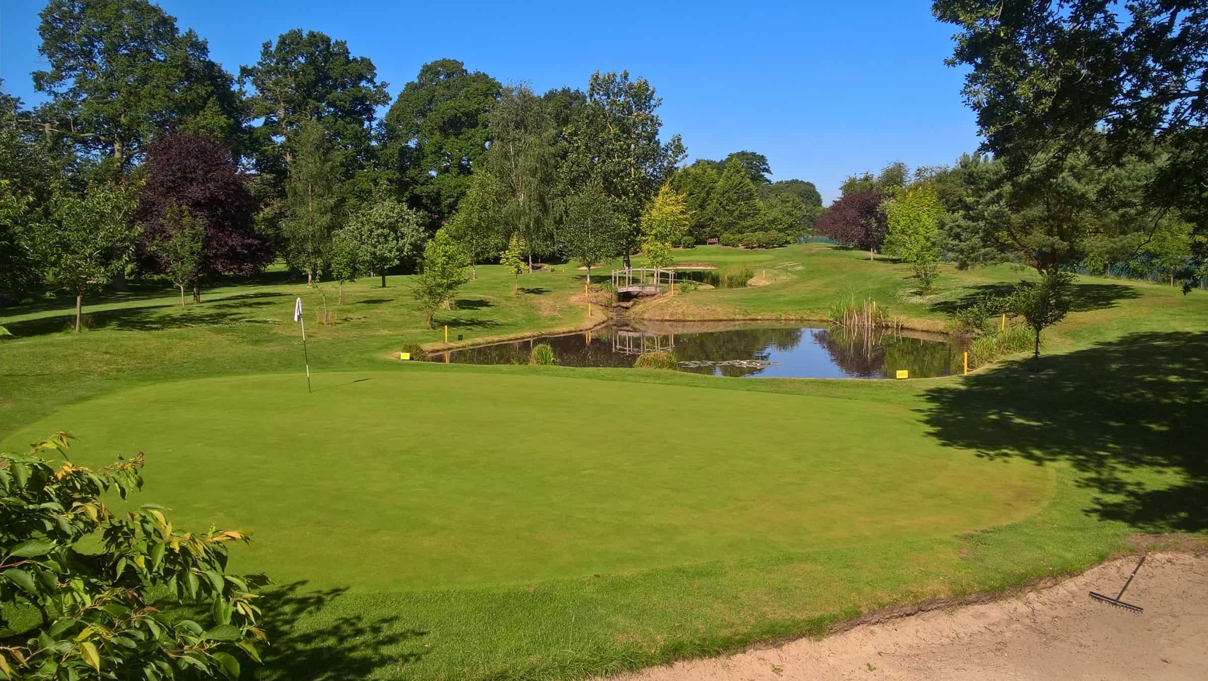 Fore King Golf Tour Par 3 Championship at Nailcote Hall 22 August 2020