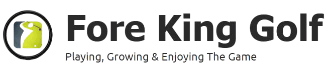 The Fore King Golf Logo