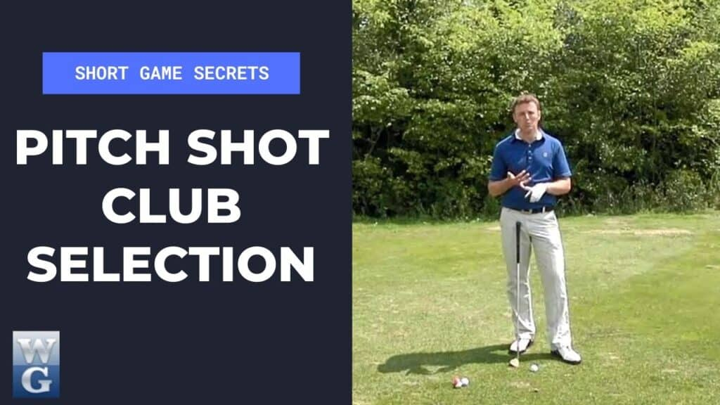 Club Selection For A Pitch Shot