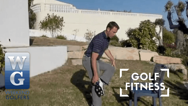 PGA Pro Richard Lawless Giving Fitness Tips