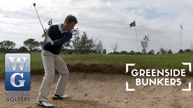 PGA Pro Richard Lawless Giving Greenside Bunker Tips