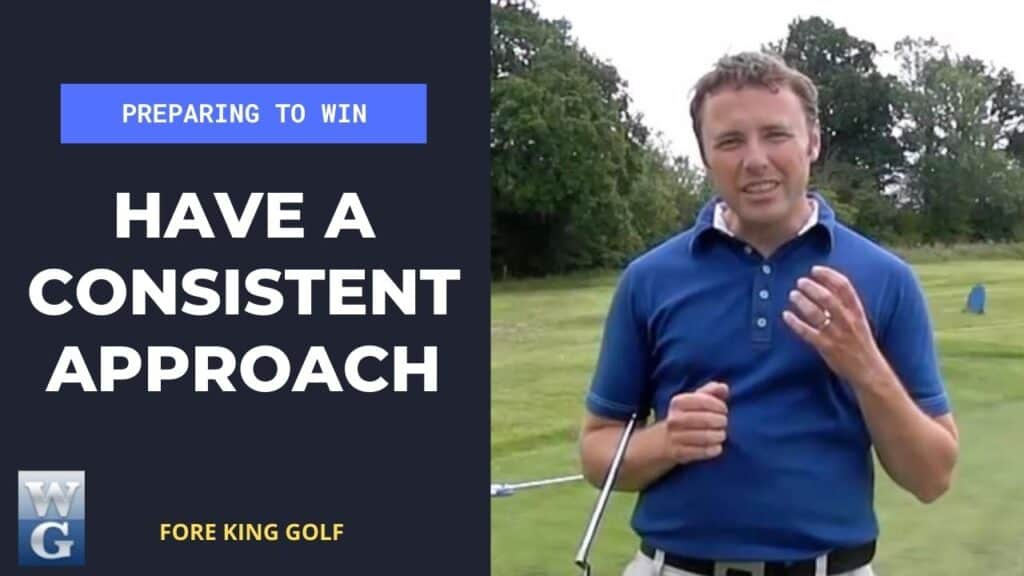 Have A Consistent Approach For A Golf Competition