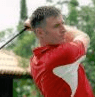 Steve King in action in Volvo Amateur Tour in Portugal