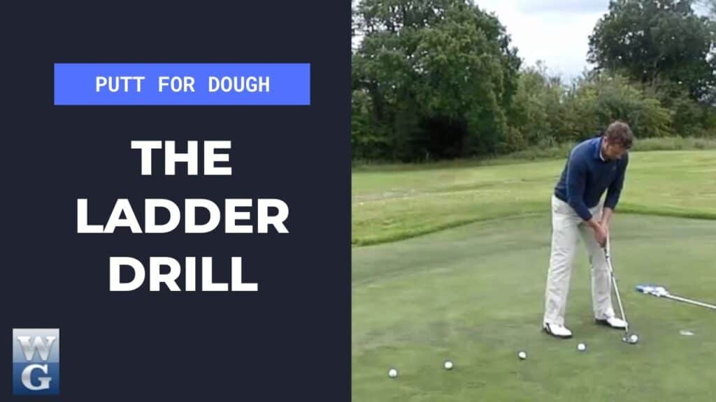 Practice Your Putting With The Ladder Drill