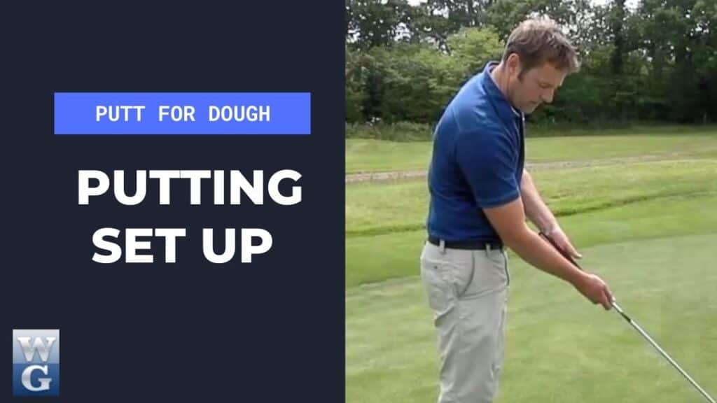 Set up In The Putting Stroke