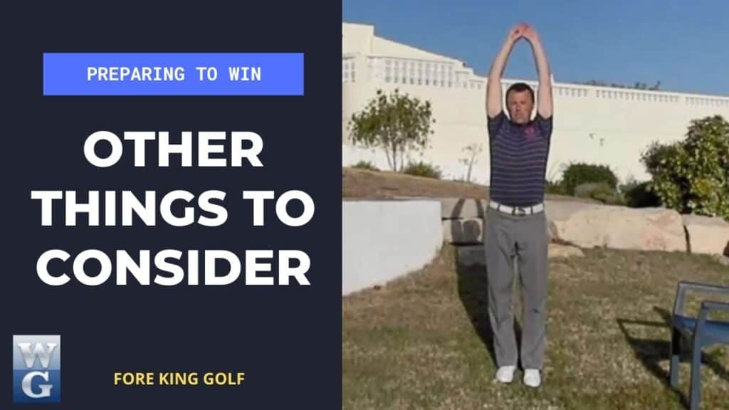 Things to Consider For A Golf Competition