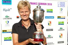Trish Johnson Winning on the Ladies European Tour in france