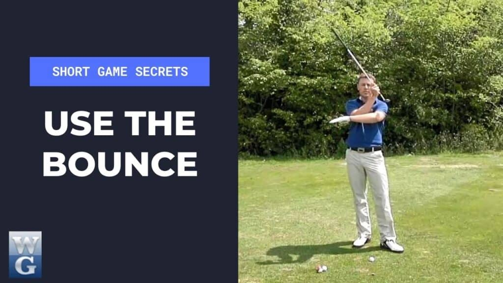Use The Bounce Of The Club For A Pitch Shot