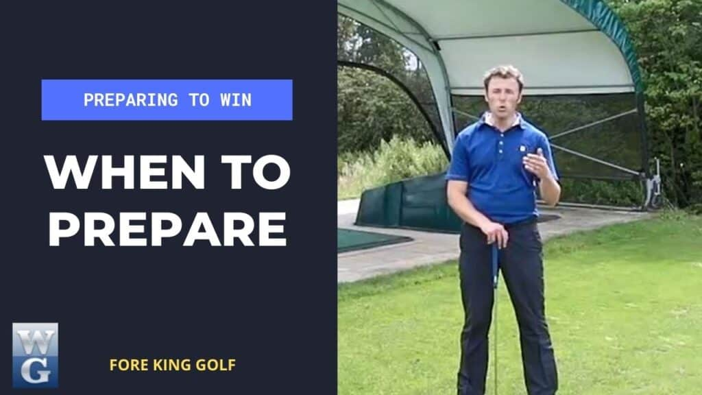 When To Start Preparing For A Golf Competition