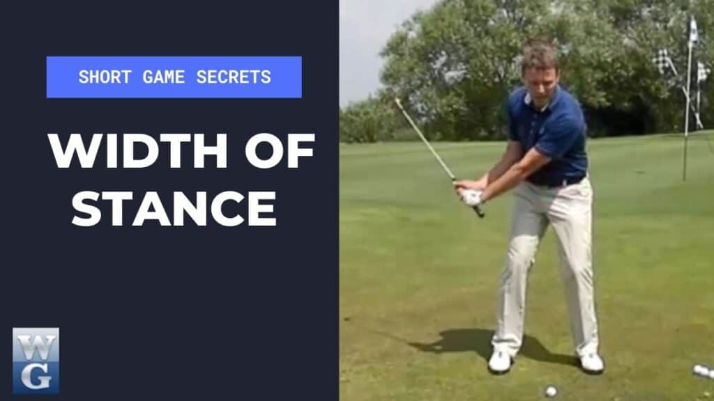 Width Of Stance In The Chip Shot