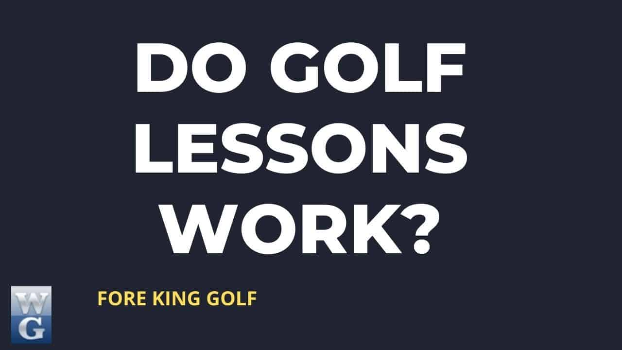 Will Golf Lessons Improve My Game