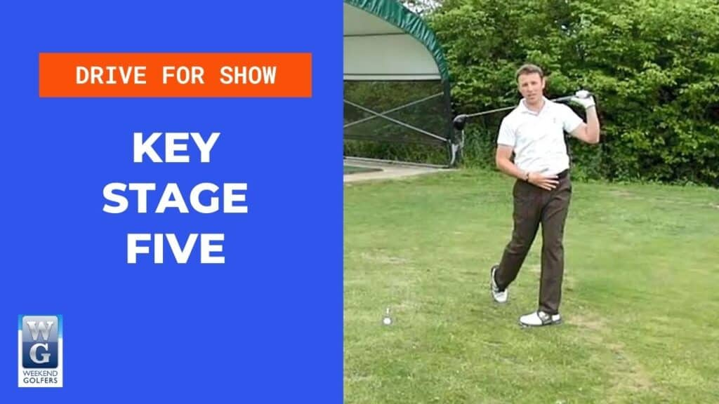 key stage five in the golf swing
