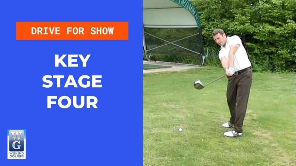 key stage four in the golf swing