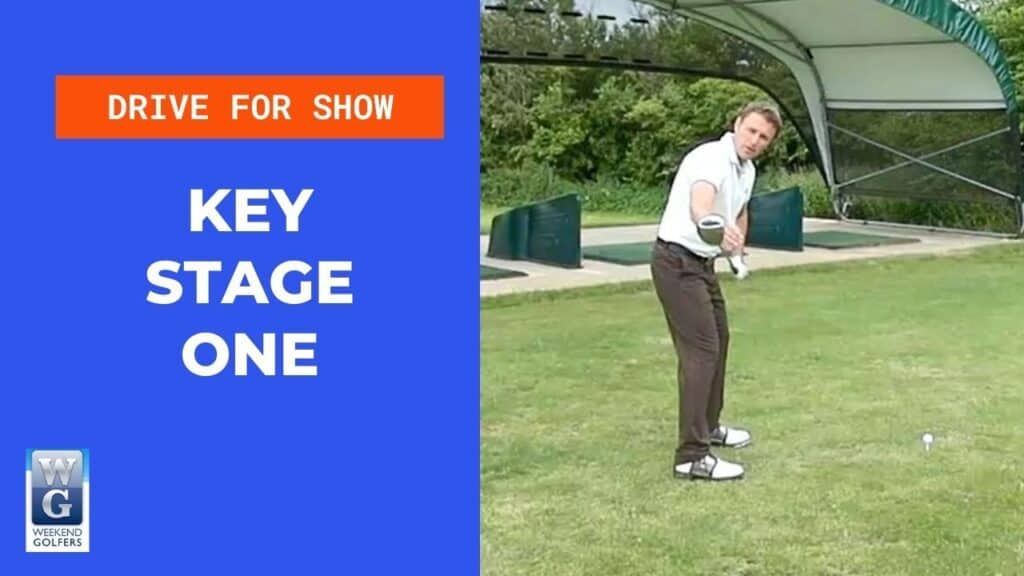 key stage one in the golf swing