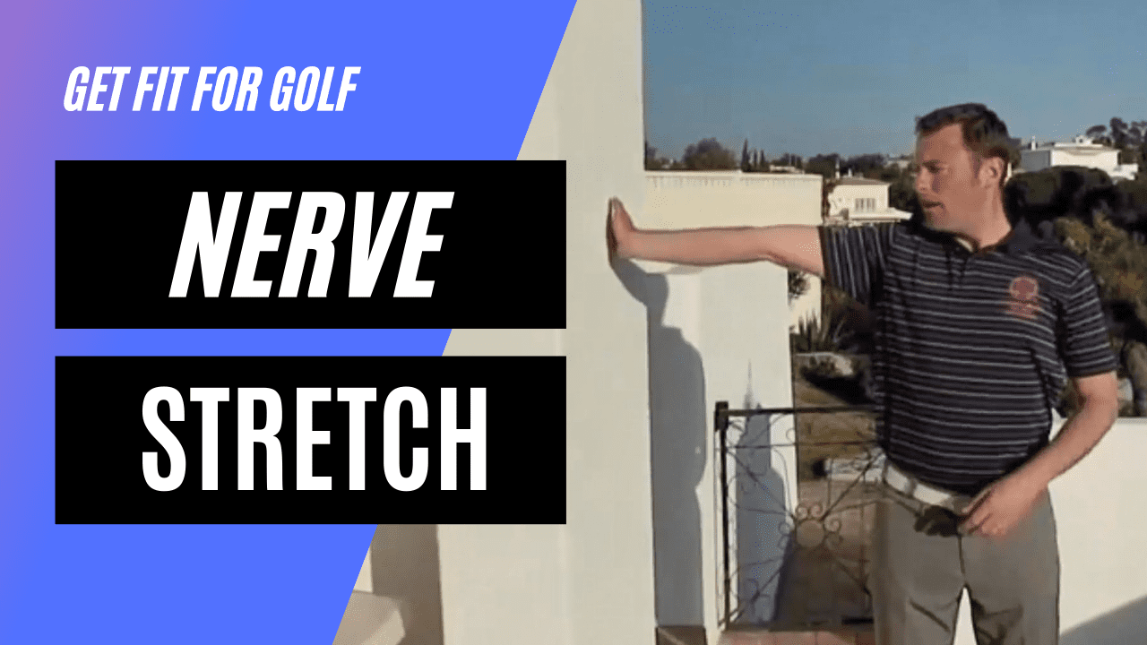 static stretch for the nerve in your arms