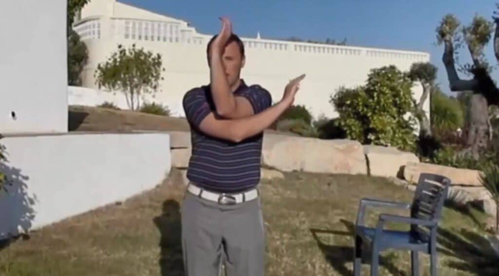 The Rotator Cuff Stretch For Golf