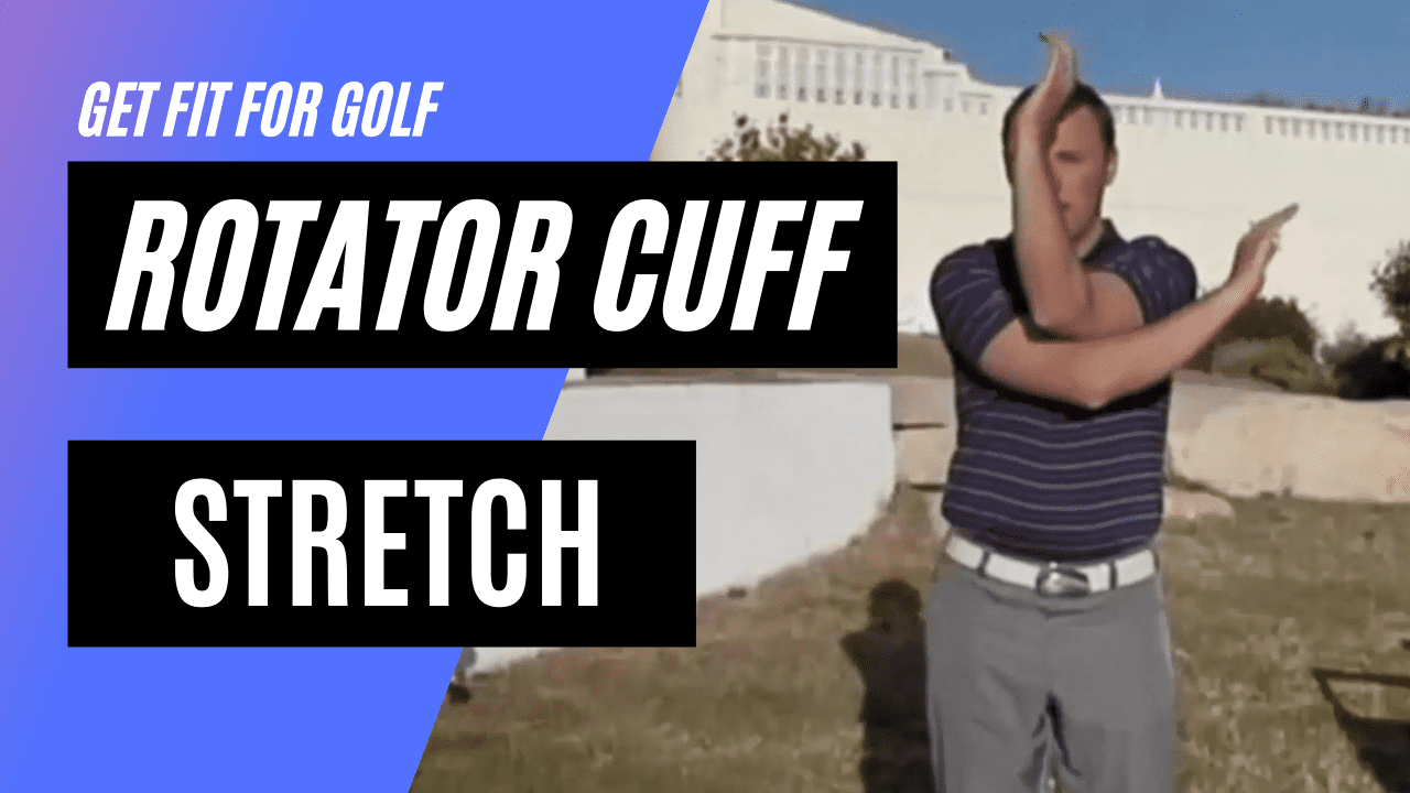 static stretch for the rotator cuff muscles