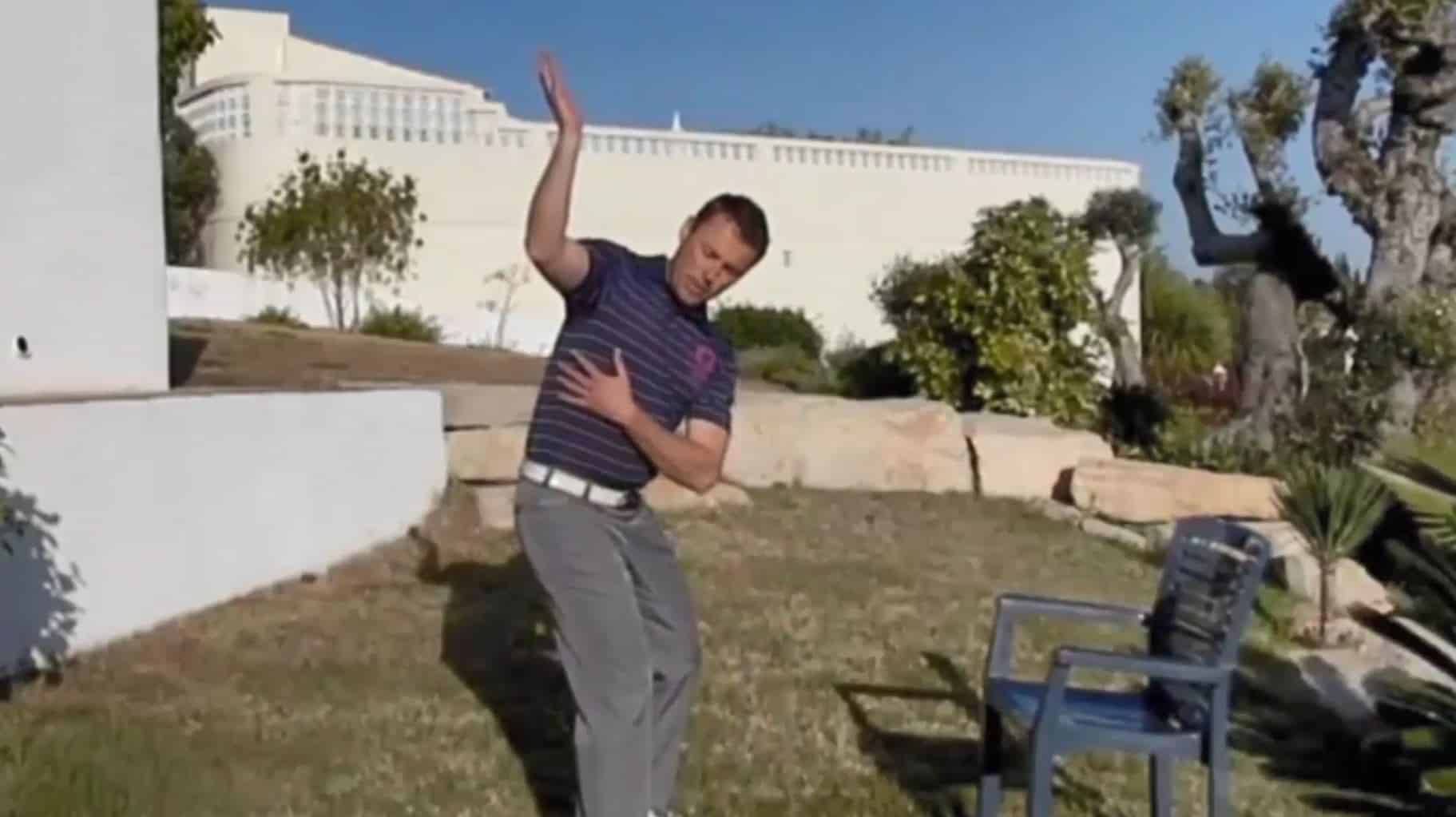 The Side Stretch For Golf