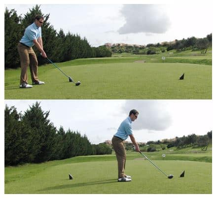 choose where you tee the ball up within the tee box