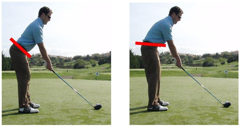 The midway point between these two extremes is a neutral hip tilt position.