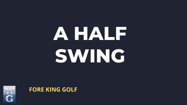 Developing A Half Swing Guide for Beginner Golfers