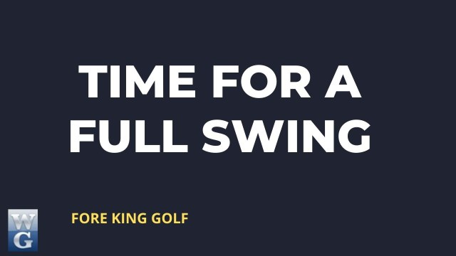 Full Swing Guide for Beginner Golfers