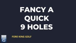How Long Does A 9 Hole Round Of Golf Take