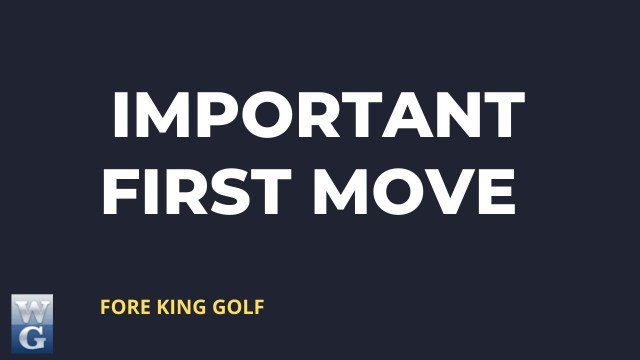 The First Move Guide for Beginner Golfers