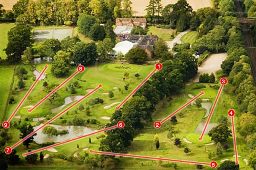 nailcote hall golf course layout